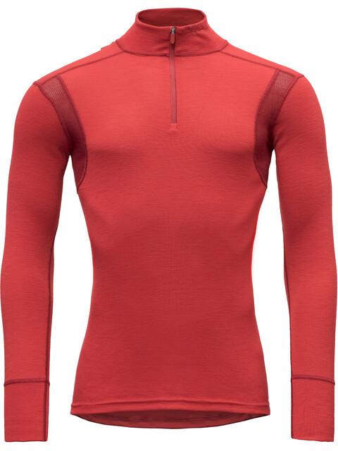 Devold M's Hiking Half Zip Neck Shirt Chilli